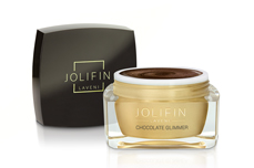 Jolifin LAVENI Farbgel - chocolate Glimmer 5ml