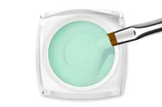 Jolifin LAVENI Farbgel - pastell-mint Glimmer 5ml
