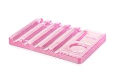 Jolifin Pinselhalter Flat Glitter pink
