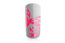 Jolifin Stamping-Lack - neon-pink Glimmer 12ml