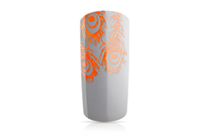 Jolifin Stamping-Lack - neon-orange Glimmer 12ml