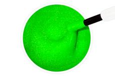 Jolifin Stamping-Lack - neon-green Glimmer 12ml