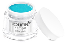 Jolifin Farbgel türkis glam 5ml