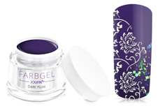 Jolifin Farbgel dark plum 5ml