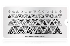 MoYou-London Schablone Holy Collection 15