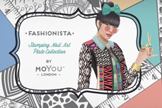 MoYou-London Schablone Fashionista Collection 16