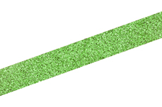Jolifin Glitter Pinstripes grün 2mm