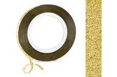 Jolifin Glitter Pinstripes gold 2mm
