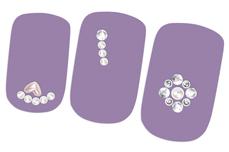 Jolifin Strass-Sticker Nr. 6