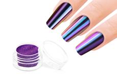 Jolifin Mirror-Chrome Pigment - FlipFlop pink & blue