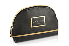 LAVENI Cosmetic Bag - black elegance