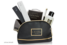 Jolifin LAVENI Cosmetic Bag - black elegance