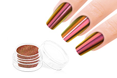 Jolifin Mirror-Chrome Pigment - FlipFlop red & gold