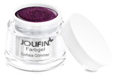 Jolifin Farbgel fuchsia Glimmer 5ml