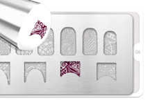 Jolifin perfect shape Stamping-Schablone Nr. 1