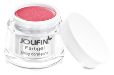 Jolifin Farbgel shiny coral-pink 5ml
