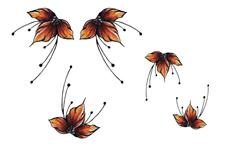 Jolifin Trend Tattoo - Herbst 5