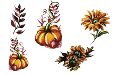 Jolifin Trend Tattoo - Herbst 6