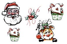 Jolifin Trend Tattoo - Christmas 2