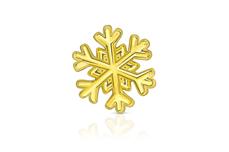 Jolifin Overlay Schneeflöckchen gold