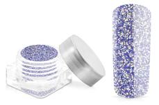 Jolifin Glitterpuder - hologramm purple