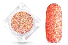 Jolifin Glitterpuder - hologramm coral