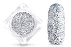 Jolifin Glitterpuder - hologramm silver