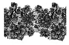 Jolifin Black Elegance Tattoo Nr. 30