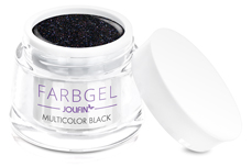 Jolifin Farbgel multicolor black 5ml