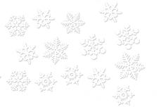 Jolifin XL Tattoo Schneeflocke Nr. 1