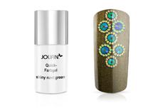 Jolifin Carbon Quick-Farbgel shiny navy green 11ml
