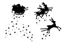 Jolifin Trend Tattoo Christmas 9