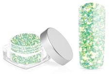 Jolifin Hexagon Glitter mint
