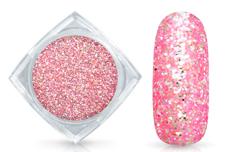 Jolifin Glitterpuder pink-coral