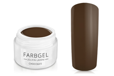 Jolifin LAVENI Farbgel - chocolate 5ml