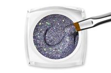 Jolifin LAVENI Farbgel - purple Glitter 5ml