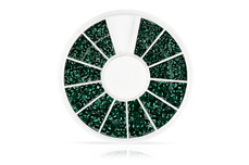 Jolifin Strass-Display - emerald