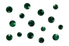 Jolifin Strass-Display - emerald