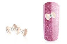 Jolifin Overlay mini Schleife rosé