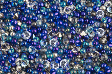 Jolifin LAVENI Luxury Pearls - blue