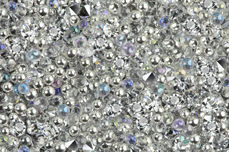 Jolifin LAVENI Luxury Pearls - silver