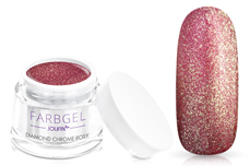 Jolifin Farbgel diamond chrome - rosy 5ml