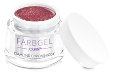 Jolifin Farbgel diamond chrome - rosy 5ml