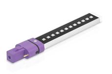 Jolifin LAVENI Dual LED-/UVA-Röhre 9 Watt - Infinity