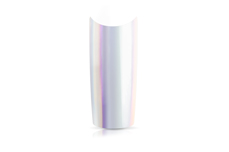 Jolifin 100er Tipbox Unicorn-Chrome - purple-grey + Feile