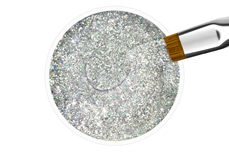 Jolifin Farbgel silver confetti 5ml