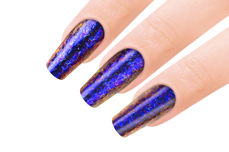 Jolifin Mirror-Chrome Flakes - FlipFlop purple & blue