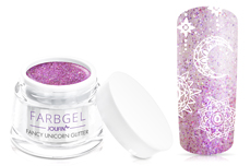Jolifin Farbgel fancy unicorn Glitter 5ml