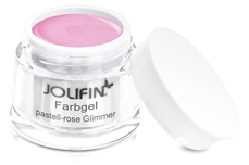 Jolifin Farbgel pastell-rose Glimmer 5ml