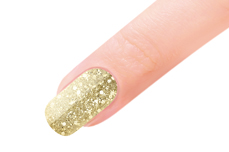 Jolifin LAVENI Farbgel - gold Glitter 5ml